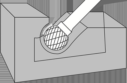 Ball Burrs Usage